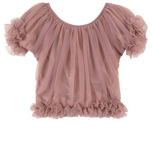 Image of DOLLY by Le Petit Tom Frilly Princess Top Mauve Medium (6-8 år) (1760940)