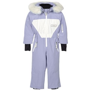 Image of Dinoski Kind Sparkle Unicorn Snowsuit Light blue 3-4 år (1611698)
