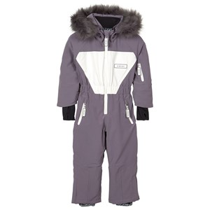 Image of Dinoski Kind Hop Bunny Snowsuit Gray 2-3 år (1611711)
