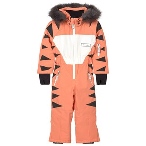 Image of Dinoski Kind Pounce Tiger Snowsuit Orange 1-2 år (1611717)