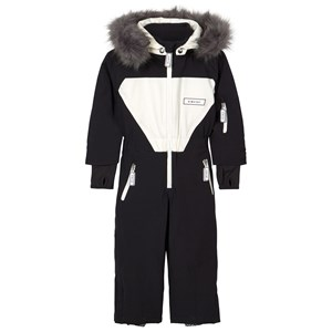 Image of Dinoski Kind Patch Panda Snowsuit Black 3-4 år (1611726)