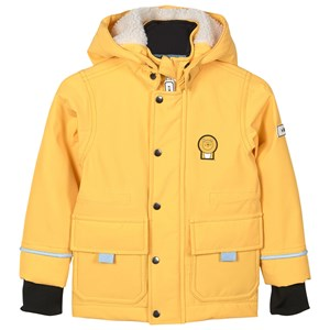 Image of Dinoski Kind Cub the Lion All Weather Winter Jacket Yellow 4-5 år (1611741)