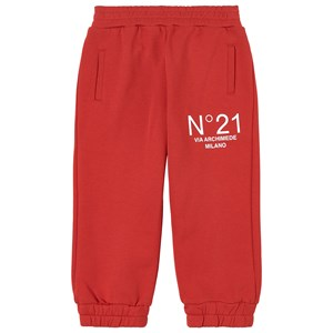 Image of N°21 Logo Sweatpants Røde 10 år (1798313)