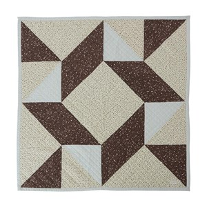 Image of OYOY Aya Quilted Blanket White One Size (1673455)