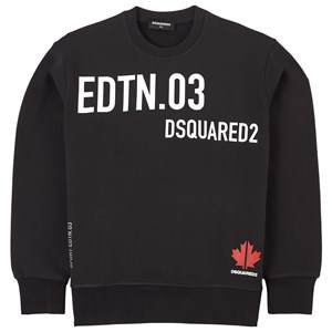 Image of DSquared2 Branded Sweatshirt Sort 10 år (1838188)