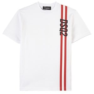 Image of DSquared2 Branded T-shirt Hvid 10 år (1838171)
