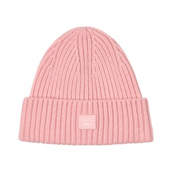 Acne Studios Knitted Wool Beanie Light pink