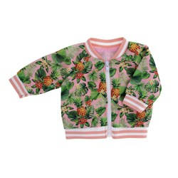 MissMiniMe Joy Doll Bomber Jacket Pink