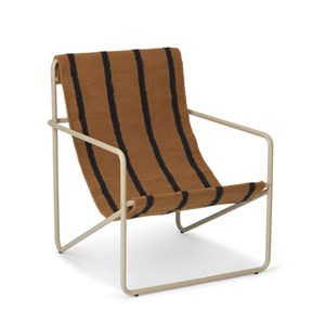 Image of ferm LIVING Desert Armchair Cashmere/Stripe One Size (1673482)