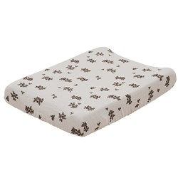 garbo&friends Blackberry Muslin Changing Pad Cover Beige