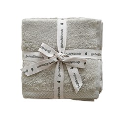 garbo&friends 3-Pack Wash Cloths Thyme