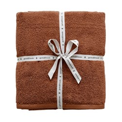 garbo&friends 3-Pack Wash Cloths Cinnamon