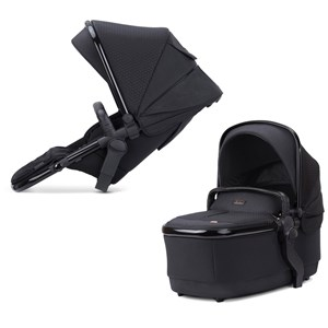 Image of Silver Cross Wave Eclipse Seat Unit And Carrycot Black Wave Eclipse Seat Unit/Carrycot (1849900)
