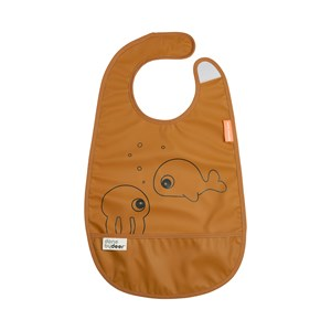 Image of Done by Deer Sea Friends Bib Mustard One Size (1673593)