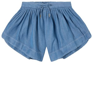 Image of Chloé Chambray Shorts Blue 10 år (1801815)