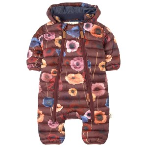 Image of ebbe Kids Bevin Coverall Bordeaux Flower Print 56 cm (1-2 mdr) (1611436)