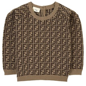 Image of Fendi FF Knit Sweater Brown 18 mdr (1827045)