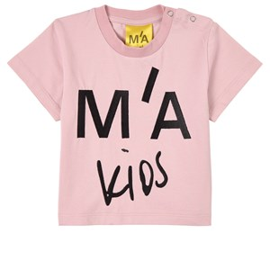 Image of Marques Almeida Branded Embroidered T-Shirt Pink 10 år (1820182)
