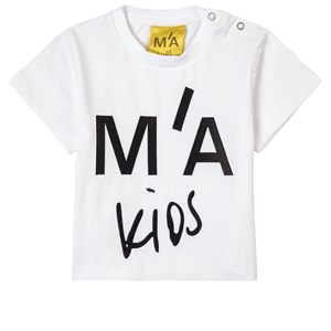 Image of Marques Almeida Branded Embroidered T-Shirt White 10 år (1820174)