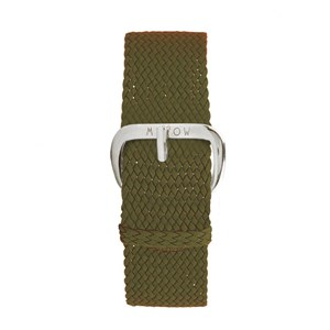 Image of Millow Braided Watch Strap Khaki one size (1857638)