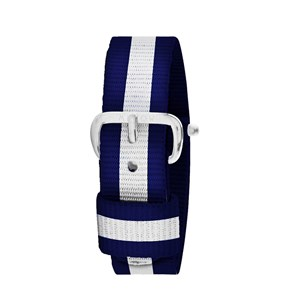 Image of Millow Stripe Watch Strap Blue one size (1857634)