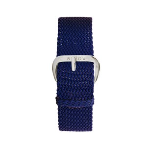 Image of Millow Braided Watch Strap Navy one size (1857639)