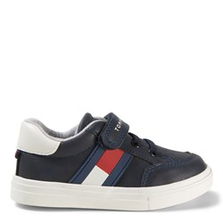 Tommy Hilfiger Flag Logo Sneakers Navy
