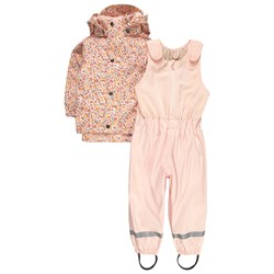 Kuling Ottawa Recycled Rain Set Pink Flower