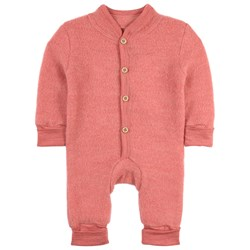 Kuling Wool Fleece Onesie Strawberry Melange