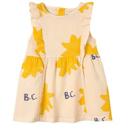 Bobo Choses Sparkle Ruffle Dress Turtledove