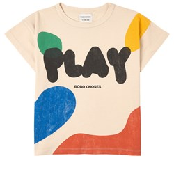 Bobo Choses Play Landscape T-Shirt Turtledove