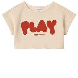 Bobo Choses Play Cropped Sweatshirt Turtledove