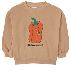 Bobo Choses Vote For Pepper Sweatshirt Brush