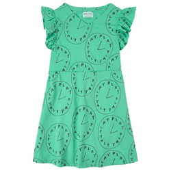 Bobo Choses Playtime Jersey Dress Green