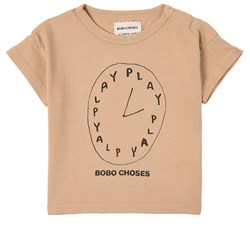 Bobo Choses Playtime T-shirt Brun