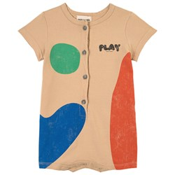 Bobo Choses Play Landscape Romper Brown