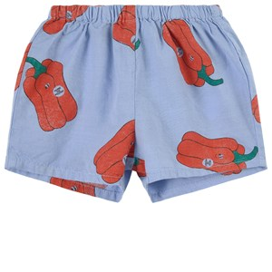Image of Bobo Choses Baby Vote For Pepper All Over Woven Shorts Blue 6-12 months (1856675)