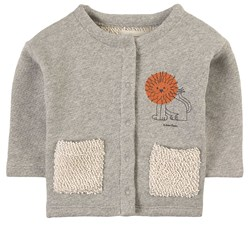 Bobo Choses Pet A Lion Button Sweatshirt Green