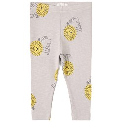 Bobo Choses Pet A Lion Leggings Gray