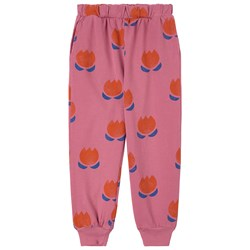 Bobo Choses Chocolate Flowers Sweatpants Pink