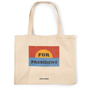 For President Tote Bag Cream