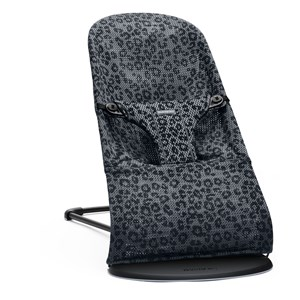 Image of Babybjörn Bliss Bouncer Anthracite Leopard Mesh One Size (1670032)