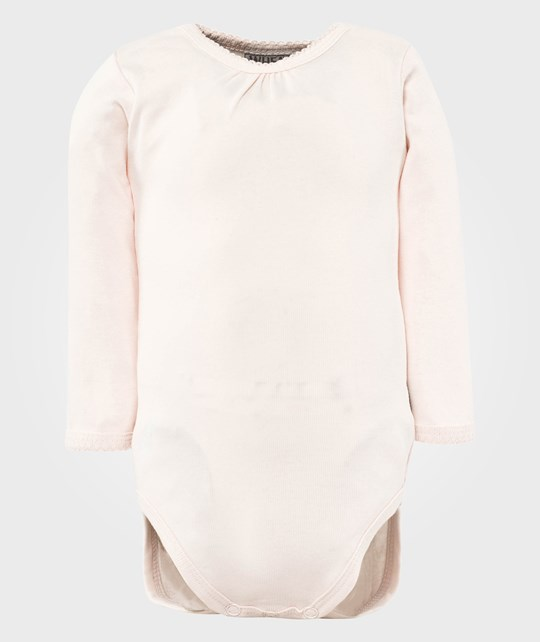 Wheat Боди Frills LS Soft Rose Pink