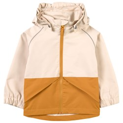 Kuling Barcelona Shell Jacket Mustard/Foggy White