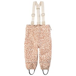 Kuling Going Shell Pants Cookie Leopard