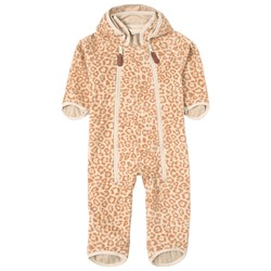 Kuling Livigno Wind Fleece Coverall Cookie Leopard