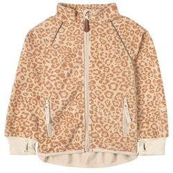 Kuling Livigno Wind Fleece Jacket Cookie Leopard