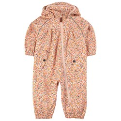 Kuling Gothenburg Softshell Coverall Pink Flower