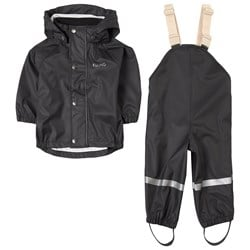 Kuling San Marino Recycled Rain Set Always Black