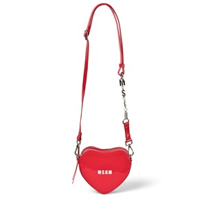 Image of MSGM Branded Heart Taske Rød one size (1782017)